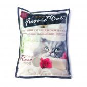Наполнитель Fussie Cat 5 л Роза комкующийся бентонитовый