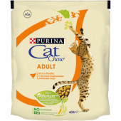 Cat Chow 400 г для взрослых кошек с птицей