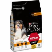 Pro Plan 3 кг для взрослых собак средних пород со вкусом курицы