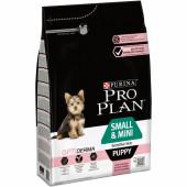 Pro Plan 3 кг для щенков мелких и карликовых пород со вкусом лосося