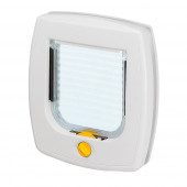 Дверь Ferplast SWING 3 BASIC белая 22.5х25.2 см