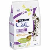 Cat Chow  1,5 кг HAIRBALL для взрослых кошек контролирует образование комков шерсти в ЖКТ