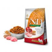 N&D для собак 800 г 90% MINI CHICKEN & POMEGRANATE для мини пород, курица,гранат