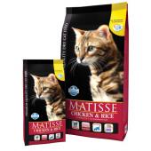 Matisse 400 г Chicken & rice для взрослых кошек с курицей и рисом