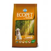 ECOPET Medium adult LAMB 12 кг для собак средних пород, с ягненком