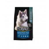 CIBAU 12 кг Medium&Maxi breed SENSITIVE FISH для средних и крупных пород, с рыбой