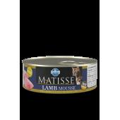 Matisse 85 гр ж/б Mousse Lamb для взрослых кошек мусс с ягненком