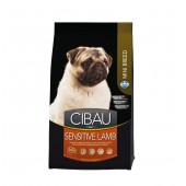 CIBAU 800 г Mini breed SENSITIVE LAMB для собак маленьких пород, с ягненком