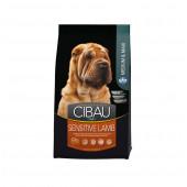 CIBAU 2,5 кг Medium&Maxi breed SENSITIVE LAMB для средних и крупных пород, с ягненоком