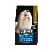 CIBAU 2,5 кг Mini breed SENSITIVE FISH для собак маленьких пород, с рыбой