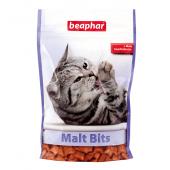 Лакомство Beaphar Malt Bits подушечки с мальт пастой для кошек 35 г