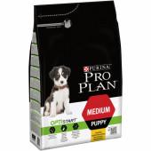 Pro Plan 3 кг для щенков средних пород со вкусом курицы