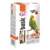 Корм LoLo pets basic фруктовый для волнистых попугаев 500г Арт. LO-72101