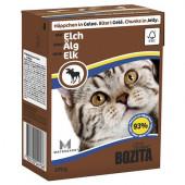 Bozita для кошек 370г кусочки мяса лося в желе