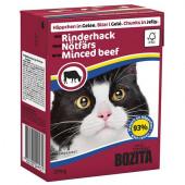 Bozita для кошек 370г кусочки говядины в желе