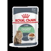 Royal Canin 85 г DIGEST sensitive для взрослых кошек,соус