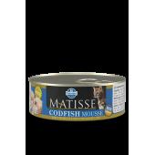 Matisse 85 гр ж/б Mousse Codfish для взрослых кошек мусс с треской