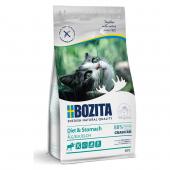 Bozita для кошек 400 г Sensitive Diet & Stomach GrainFree для взрослых кошек с чувствительным пищеварением и избыточным весом с лосем