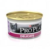 Pro Plan 85 г Ж/Б  для кошек DELICATE