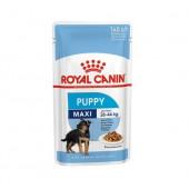 Royal Canin 140 г MAXI Puppy для щенков крупных пород, соус