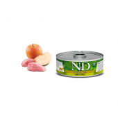 N&D для кошек 80 г Ж/Б PRIME кабан и яблоко