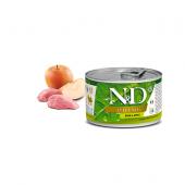 N&D для собак 140г PRIME кабан яблоко