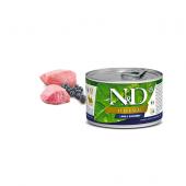 N&D для собак 140г PRIME ягненок черника