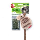 GiGwi Мышка с кошачей мятой Арт 75382