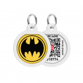 Адресник COLLAR QR-код Бэтмен Арт 0625-1006