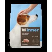 Winner для собак 1,5 кг для взрослых собак мини пород с курицей