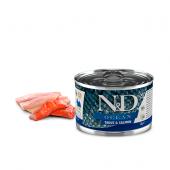 N&D для собак 140г OCEAN форель, лосось