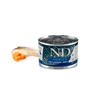 N&D для собак 140г OCEAN PUPPY для щенков треска, тыква