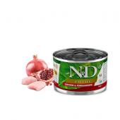 N&D для собак 140г PRIME курица гранат