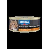 BOREAL для кошек 80 г красное мясо тунца в соусе с курицей 007048