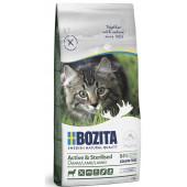 Bozita для кошек 2 кг Sterilised GrainFree для активных и стерилизованных кошек с ягнёнком