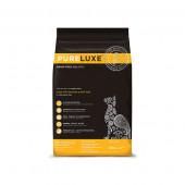 PureLuxe для кошек 400 г Indoor cat Salmon&split peas, для домашних кошек с лососем и горошком 940118