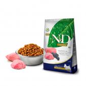 N&D для собак 2,5 кг 98% MINI ADULT LAMB&BLUEBERRY для мини пород, ягненок с черникой