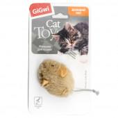 GiGwi Мышка со звуковым чипом Арт. 75217