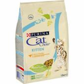 Cat Chow 1,5 кг для котят с птицей