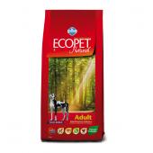 ECOPET Maxi adult 12 кг для собак крупных пород, с курицей