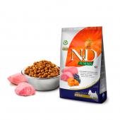 N&D для собак 800 г 96% MINI ADULT LAMB&BLUEBERRY PUMPKIN для мини пород, ягненок,тыква,черника