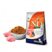 N&D для собак 800 г 96% MINI PUPPY LAMB&BLUEBERRY PUMPKIN для щенков мини пород с ягненком,тыквой и черникой