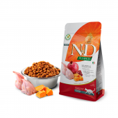 N&D для кошек 300 г 96% QUAIL,PUMPKIN&POMEGRANATE,перепелка,тыква,гранат