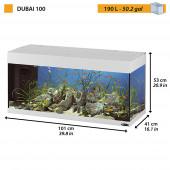 Аквариум FERPLAST DUBAI 100 190л