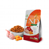 N&D для кошек 1,5 кг 96% QUAIL,PUMPKIN&POMEGRANATE NEUTERED, для стерилизованных с перепелкой,тыквой,гранатом