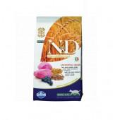 N&D для кошек 5 кг 94% LAMB & BLUEBERRY, ягненок, черника