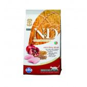 N&D для кошек 5 кг 94% CHICKEN&POMEGRANATE,  курица, гранат