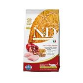N&D для кошек 5 кг 94% CHICKEN&POMEGRANATE NEUTERED, для стерилизованных курица, гранат
