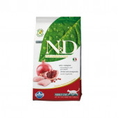 N&D для кошек 5 кг 98% CHICKEN&POMEGRANATE, курица,гранат