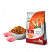 N&D для собак 2,5 кг 96% MINI ADULT CHICKEN&POMEGRANATE PUMPKIN для мини пород, курица,тыква,гранат
